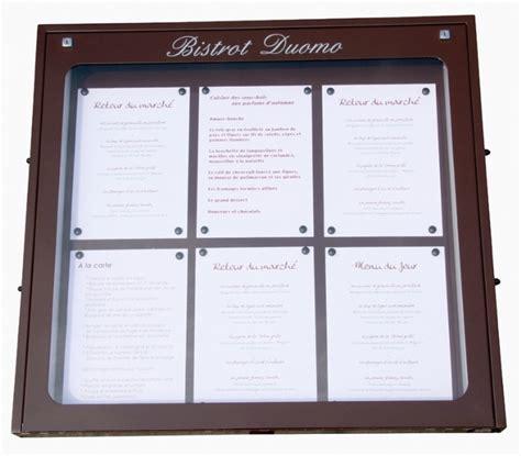 porte menu restaurant exterieur porte menu lumineux mural jupmlu001