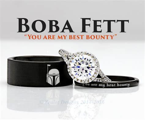 star wars boba fett    piece silver custom