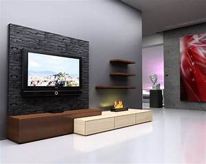Bedroom: Tile Floorings And Bedroom Tv Unit Design With ...