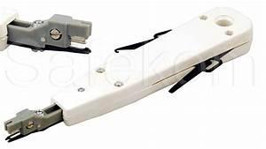 Network Bt Telephone Socket Insertion Multi Punch Down Idc Faceplate Krone Tool
