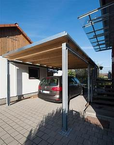 Windhof Conweiler HolzMetall Carport