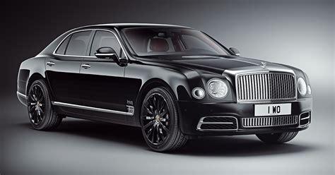 2019 Bentley Mulsanne Wo 100th Anniversary Edition