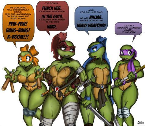 Female Teenage Mutant Ninja Turtles Gender Bender Superhero Sex Change Superheroes Pictures