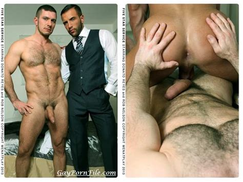 Men At Play 5 Star Service Rob Nelson And Donato Reyes