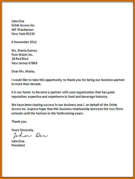 how to properly write a letter best opening for a business letter best way to write a