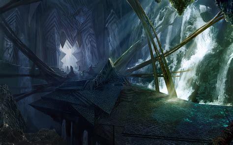 video game star craft ii zeratul widescreen wallpaper