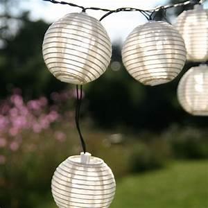 Solar Lichterkette Lampions : solar lichterkette kugel sandhell ~ Whattoseeinmadrid.com Haus und Dekorationen