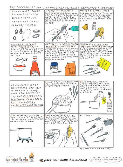 easy diy ways  clean polish tarnished silverware