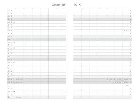 monatskalender monatsplaner fuer   und  fuer drei