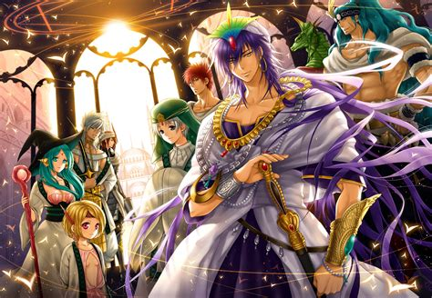 Magi Anime Wallpaper - magi the labyrinth of magic hd wallpaper background
