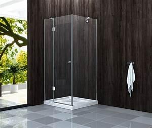 Duschkabine Mit Duschtasse : duschkabine genera glas dusche duschwand duschabtrennung duschtrennwand ebay ~ Frokenaadalensverden.com Haus und Dekorationen