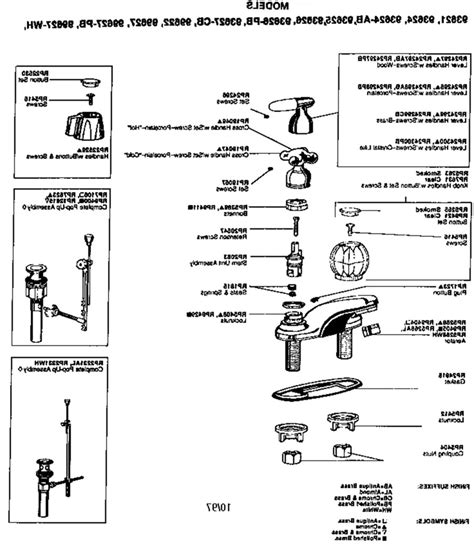 peerless kitchen faucet replacement parts peerless faucet leaks delta repair diagram shower parts