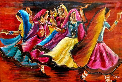 sell paintings indian folk painting by rekha