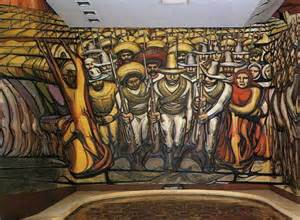 the revolution mural david alfaro siqueiros wikiart