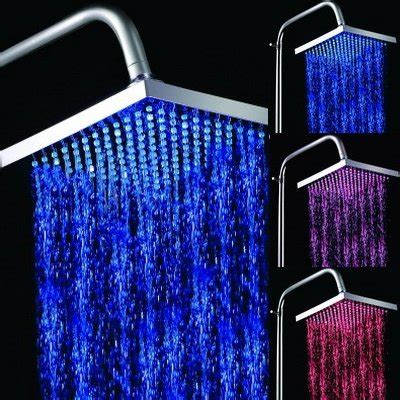 light up shower reviews of the best color changing shower heads and how