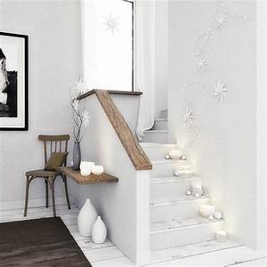 Deco Marche Escalier : 10 id es d co pour l 39 escalier blog but ~ Teatrodelosmanantiales.com Idées de Décoration