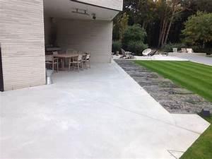 terrasse beton cire exterieure terrasse beton exterieur With terrasse beton cire exterieure
