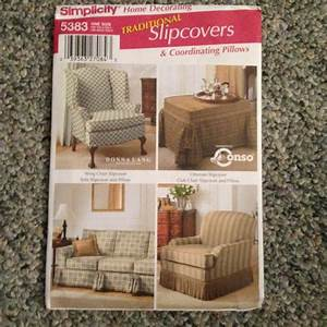 sewing pattern slip covers for wing chair ottoman sofa With furniture cover sewing patterns