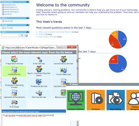 end user service desk software solutions itil 174