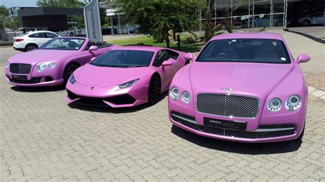 pink lamborghini huracan fights breast cancer aided