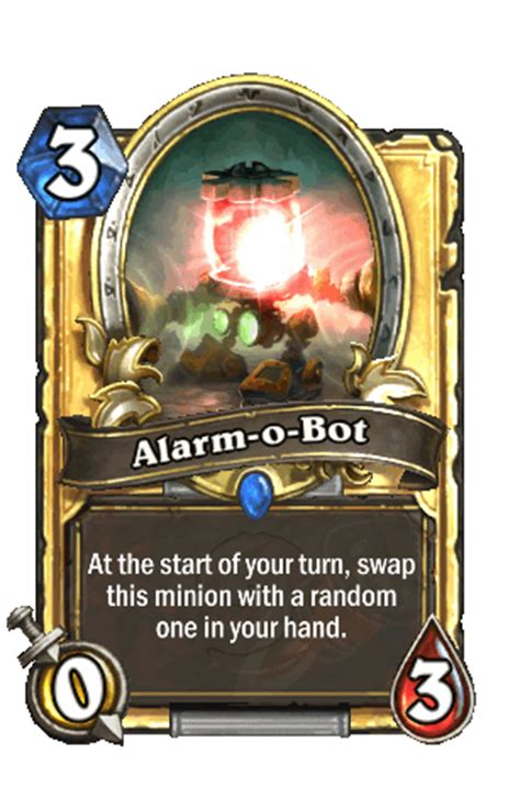 Alarm O Bot Deck 2017 by Alarm O Bot Hearthstone Heroes Of Warcraft Wiki