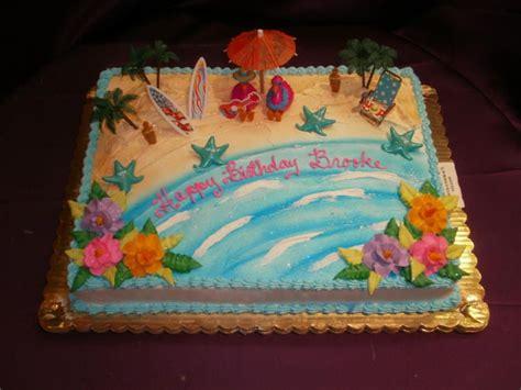 beach themed  sheet cakes beach wedding sheet cakes