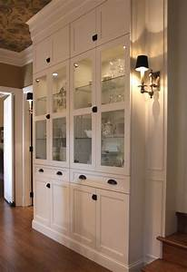 Built In China Cabinet Designs - WoodWorking Projects & Plans