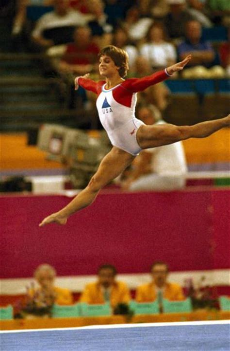 Lou Retton Olympic Floor Routine by 1000 Images About Gymnastics Olympics 1984 On