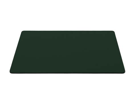 sous cuir bureau sous de bureau en cuir vert