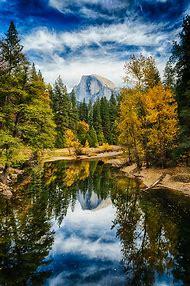 Yosemite Falls Autumn