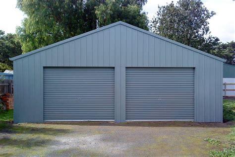 Double Garages & Triple Garages   Custom Garage Shed Designs