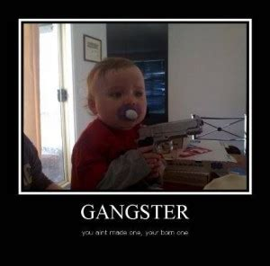 gangsta quotes funny
