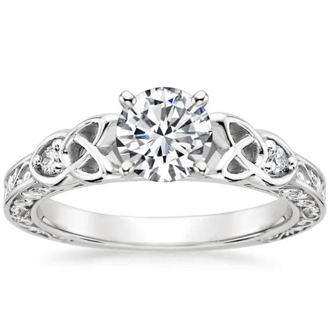 celtic engagement ring aberdeen brilliant earth