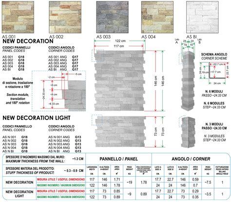Pannelli In Pietra Ricostruita Per Interni Angolo Per Pannello In Pietra Ricostruita Assisi