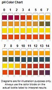 Glucose Color Chart Ph 0 14 Test Strips Serim Research Corporation