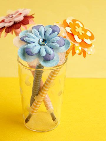 Easy Flower Pen Craft