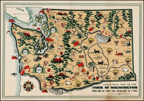 industrial map   state  washington barry