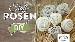 Deko Kataloge Kostenlos : diy deko rosen aus stoff im shabby chic stil deko kitchen youtube ~ Watch28wear.com Haus und Dekorationen