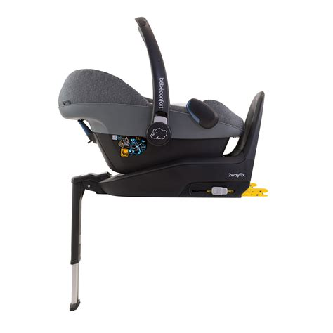 siege pebble pebble plus triangle black de bébé confort siège auto