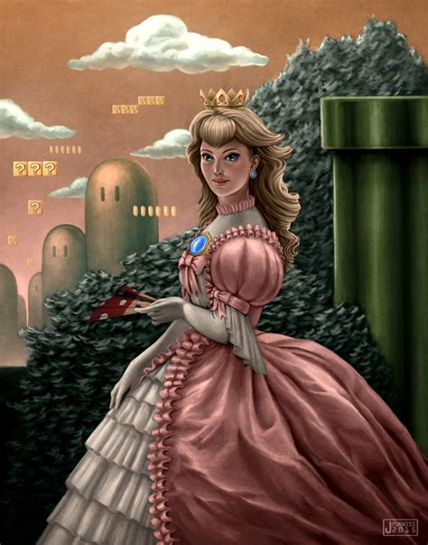 Princess Peach By Joifish On Deviantart