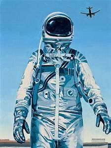 Under The Flight Path Painting by Scott Listfield