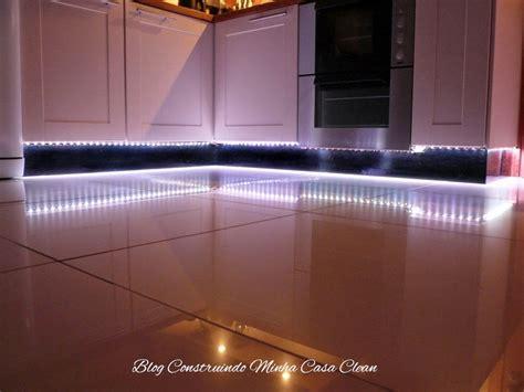 led kitchen lighting ideas construindo minha casa clean decora 231 227 o fitas de led 6913