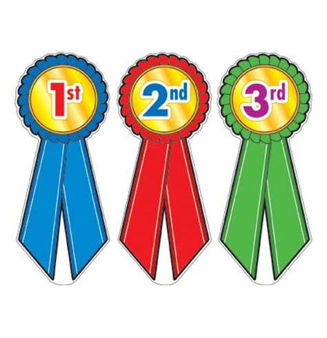 place ribbon clipart 1st 2nd 3rd place ribbons clipart 47