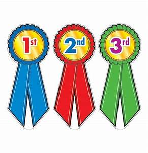 1st 2nd 3rd place ribbons clipart 47 With 1st prize ribbon template