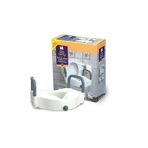 siège toilette surélevé siège de toilette surélevé à 3 configurations la maison