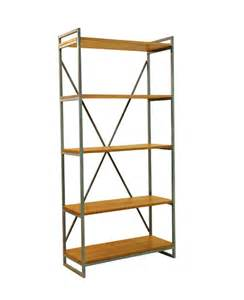 Used Furniture Sale by William Industrial Teak Book Shelf Wihardja Furniture