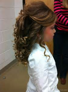 Girls Pageant Hairstyles Long Hair