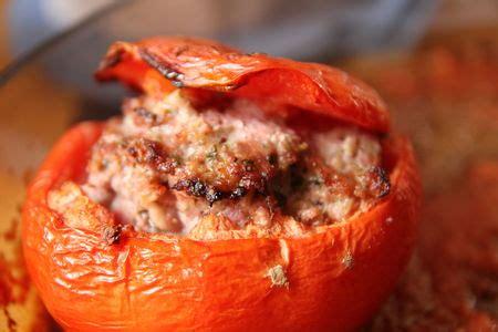 cuisiner chair à saucisse tomates farcies boeuf chair à saucisse mapom en cuisine