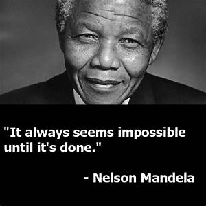 Nelson Mandela Quote Graphics and Servant Leadership