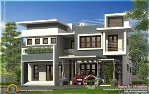 modern home house plans modern contemporary residence design home kerala plans